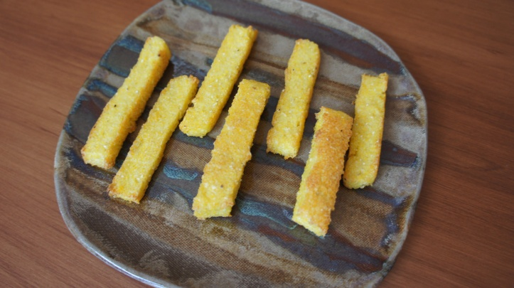 [Baked Polenta Fries]