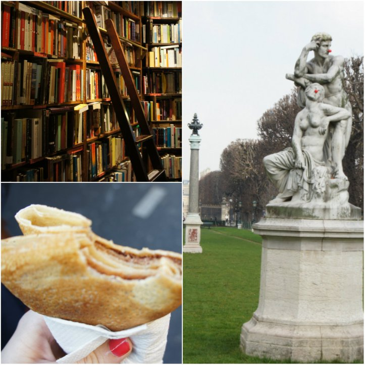 Shakespeare&co., crêpes, and red-nosed statues?