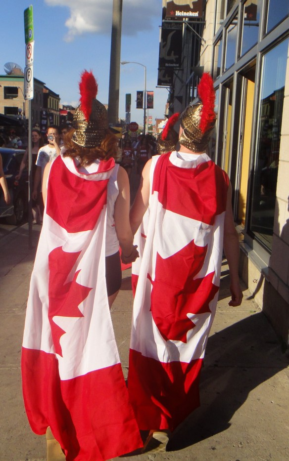Canadians Spartans
