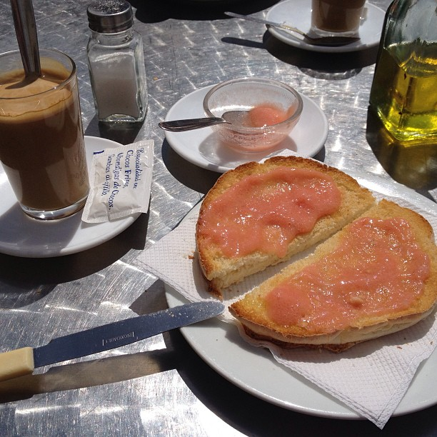 Snacktime in Andalucia