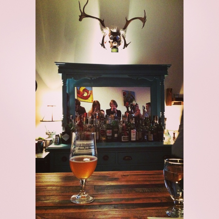 We loved the atmosphere and the decor (as well as the food and local brews!) at The Hintonburg Public House.