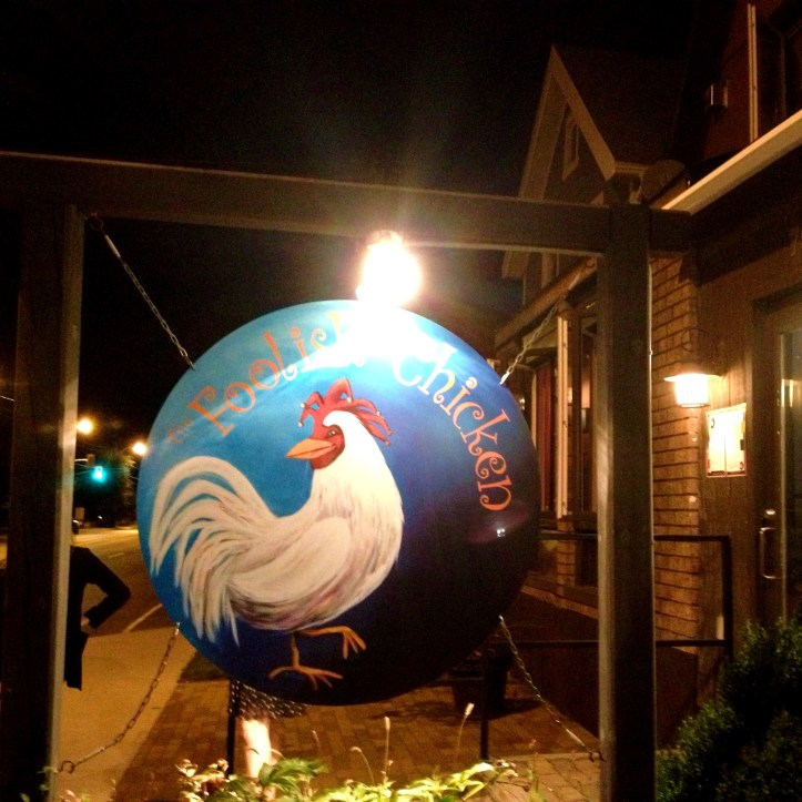 The whimsical Foolish Chicken.
