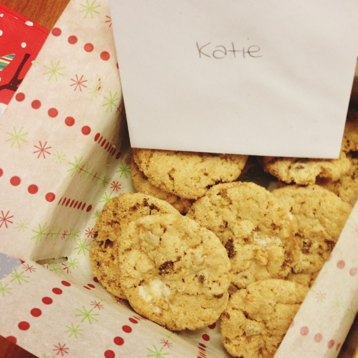 More delicious cookies from Megan!