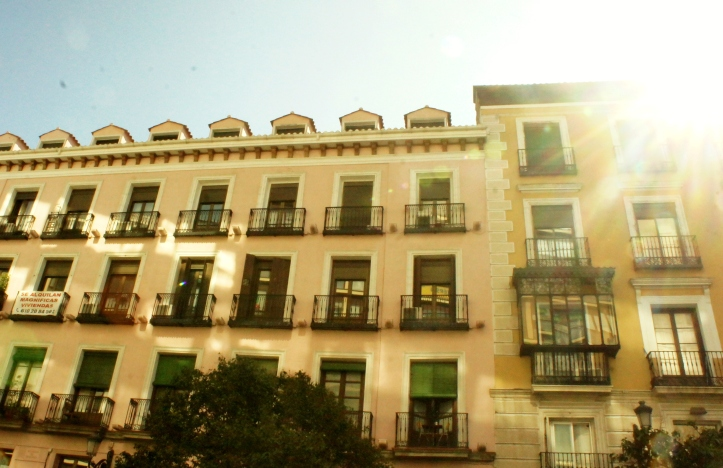 Madrid sunshine