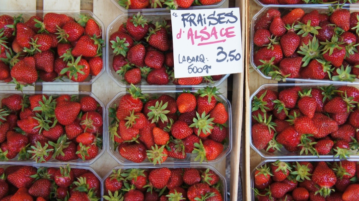 fraises d'alsace