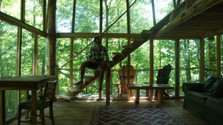 In the Perched Cabin